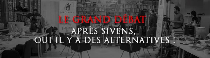 Le Grand débat : Après Sivens, oui il y a des alternatives