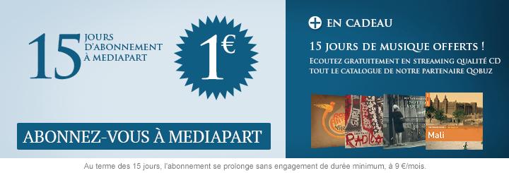 Offre spéciale 1 euro 15 jours, testez-nous !