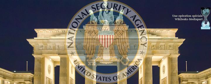 L'Allemagne a été massivement espionnée par les États-Unis